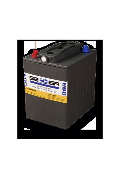 Traction hermetic battery Becker 6V 175Ah